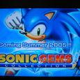 Sonic's Coming Soon!