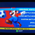Mario Strikers Menu