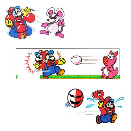 Mario's many troubles