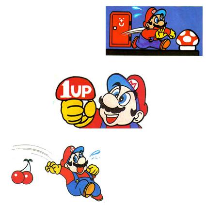 Mario's many items