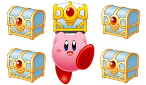 Kirby's treasures