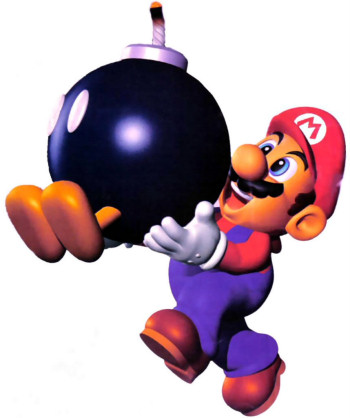 Mario and Bob-omb