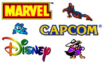 Marvel vs Capcom vs Disney