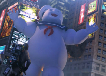 It's the Stay-Puft Marshmallow Man