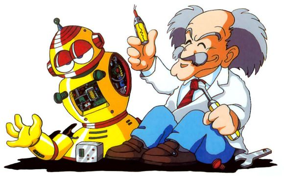 Dr. Wily tinkers