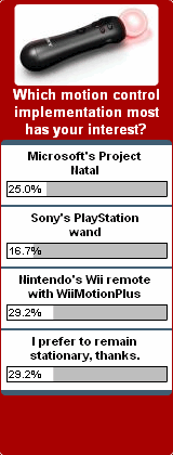 Weekly Poll for 1-25-2010