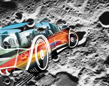 Burnout on the moon!!!