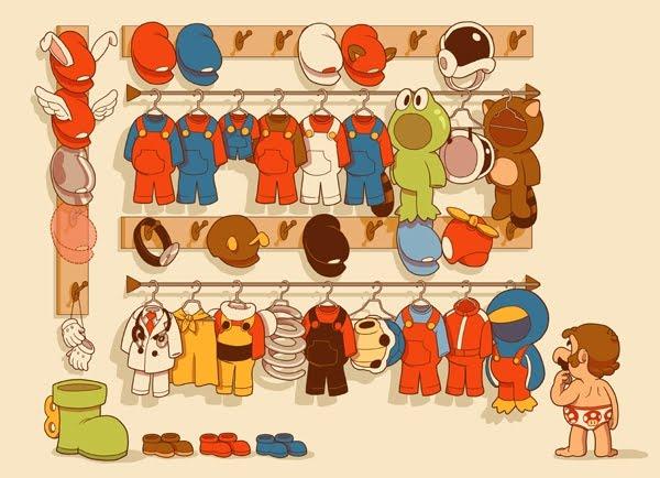 Mario's Closet