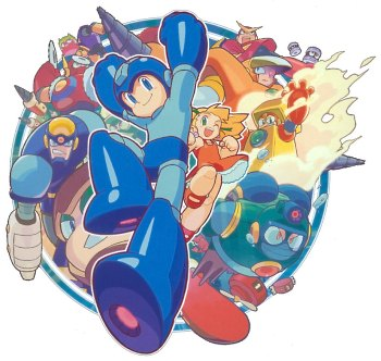 Mega Man and friends (and foes)