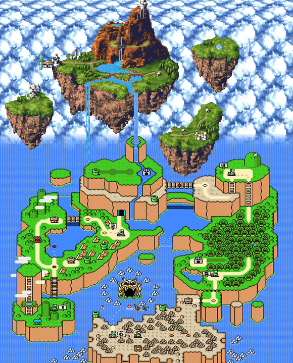 Super Mario World meets Chrono Trigger