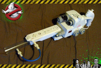 Ghostbusters Wii remote shell