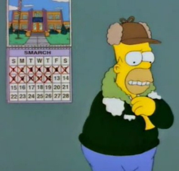 Lousy Smarch weather!