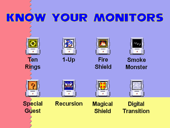 Know Your Monitors