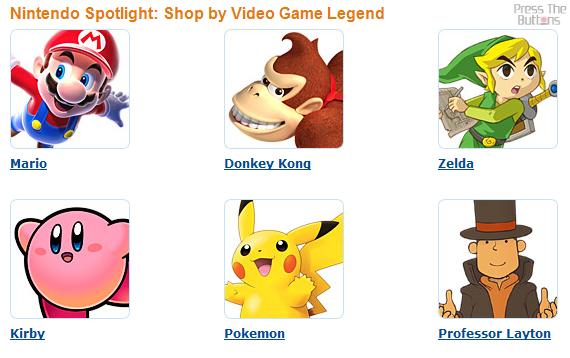 Amazon.com - Shop by video game legend