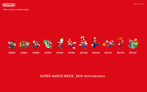 25th anniversary super mario brothers