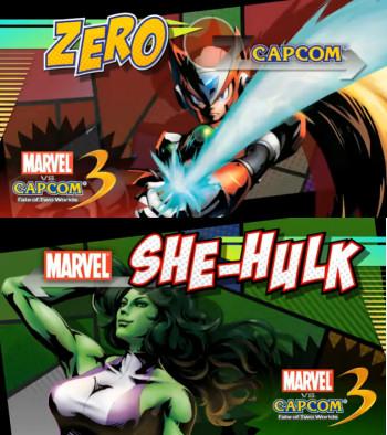 Zero and She-Hulk