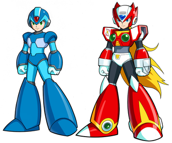 Mega Man X and Zero