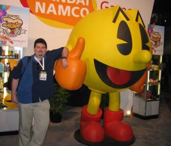 MattG with Pac-Man