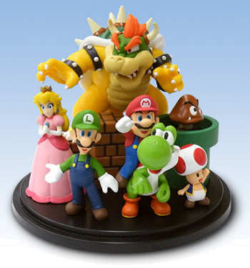Club Nintendo Mario figurine