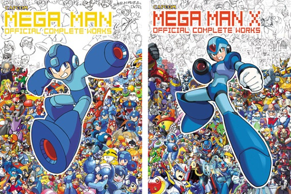 Mega Man and Mega Man X - Official Complete Works