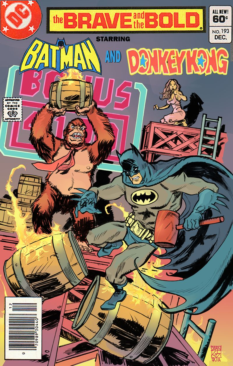 Batman_VS_Donkey_Kong_by_deankotz