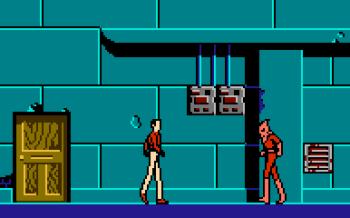 Unlicensed NES game