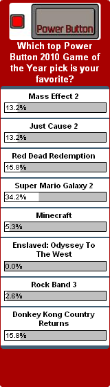 Weekly Poll for 1-03-2011