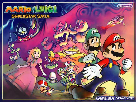 Mario and Luigi: Superstar Saga