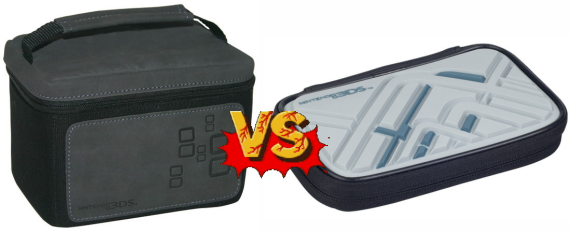 Battle Of The Nintendo 3DS Storage Cases: Mad Catz Traveler Bag VS Power A Expedition Case