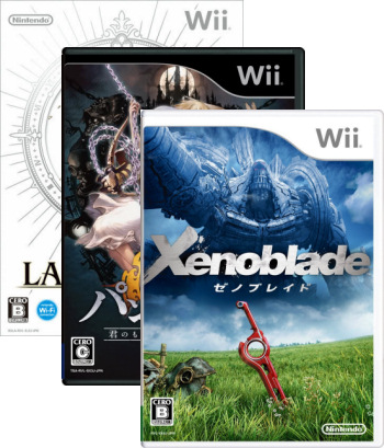 Xenoblade Chronicles, The Last Story, and Pandora's Tower