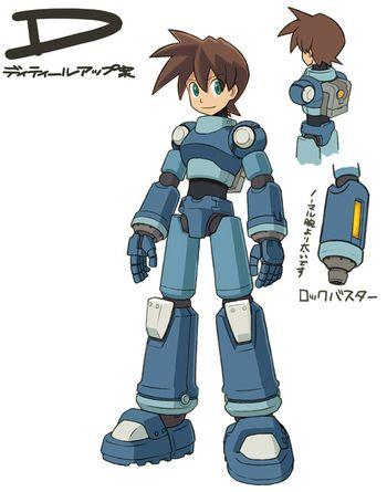 Mega Man Volnutt design variation