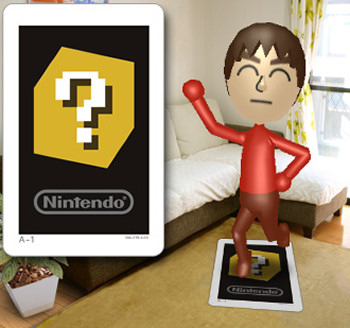 Giant Mii AR Card
