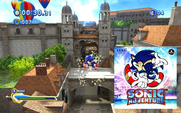 Press The Buttons Sonic Strikes A Familiar Pose