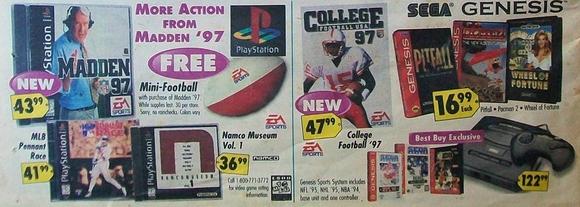 Best Buy sales flyer from September 15, 1996