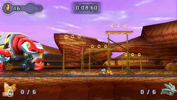 Press The Buttons Mini Review Sonic Rivals 2