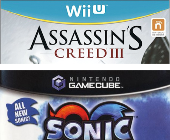 Wii U / GameCube box comparison