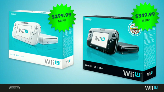 Wii U launch price
