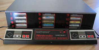 Nintendo Entertainment System kiosk