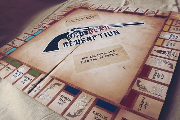 Red Dead Redemption: Monopoly Edition