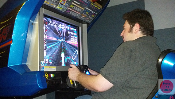 press the buttons let s visit a secret arcade featuring f zero ax