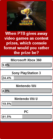 Weekly Poll for 10-22-2012