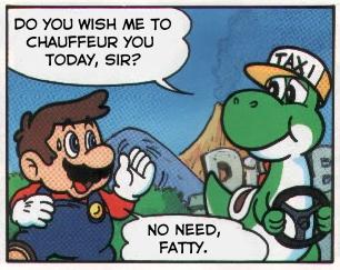Mario says hurtful things