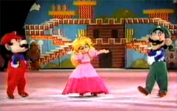 Super Mario On Ice