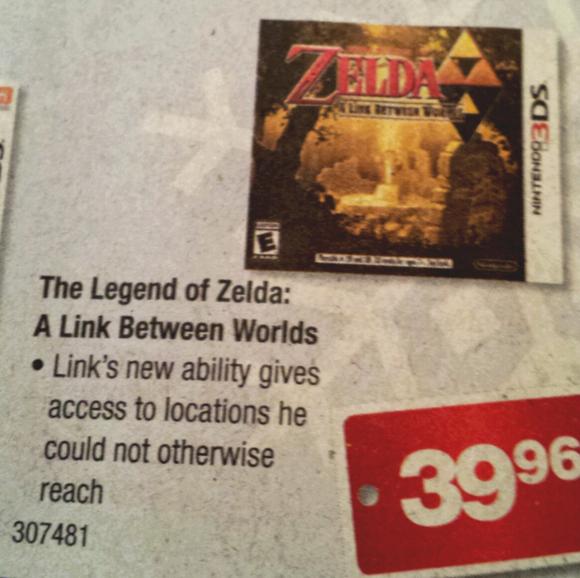 Zelda ad