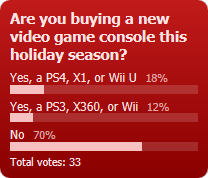 Weekly Poll for 12-20-2013