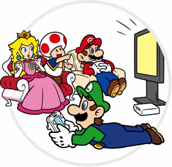 Luigi plays