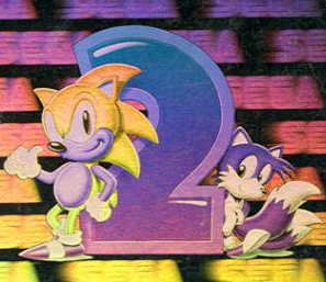 Sonic the Hedgehog 2 hologram