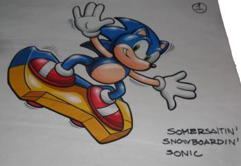 Sonic toy