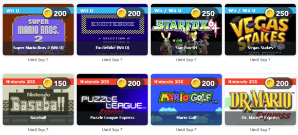 Club Nintendo - August 2014 Rewards