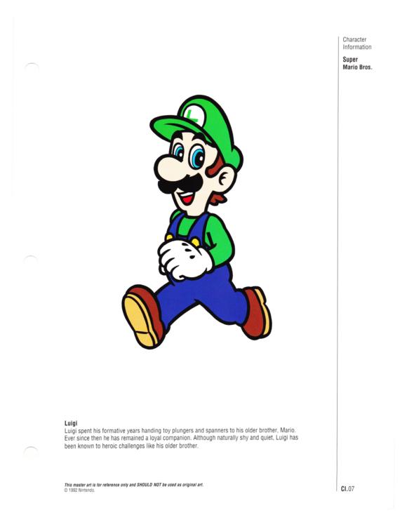 Nintendo Character Guide (1993)_GreenExcerpts-08